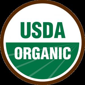Certified USDA Organic seal