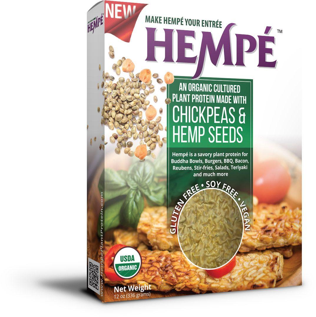 USDA Organic Hempe package